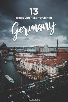 The 13 Best Cities to Visit in Germany. Germany is a country full of incredible culture, history & architecture. Visit Germany, Germany Europe, Germany Travel, Best Cities In Germany, Holidays Germany, Europe Holidays, Beautiful Places To Visit, Cool Places To Visit, Places To Travel