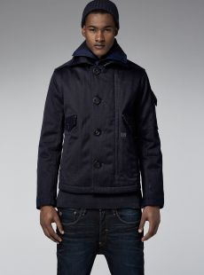 G-STAR RAW - DAVIN CROPPED PEACOAT.