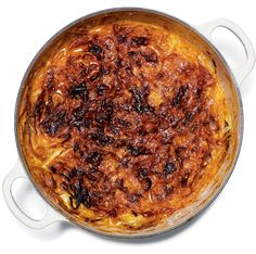 Vegetarian version of French Onion SOup   This recipe is by Amanda Hesser and takes 2 hours 15 minutes. Tell us what you think of it at The New York Times - Dining - Food.