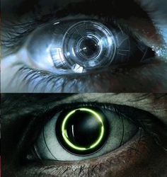 these cyberpunk, Ocular implant eyes wow! Cyberpunk 2077, Cyberpunk Kunst, Science Fiction, Francoise Arnoul, Character Inspiration, Character Design, 3d Character, Character Concept, Affinity Photo