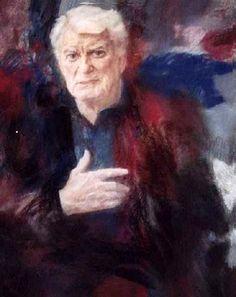Georgy Shishkin -  Jean Morais, portrait de l'acteur, 1995 (Vallauris). 122x100. Portrait, Painting, Art, Art Background, Headshot Photography, Painting Art, Kunst, Portrait Paintings, Paintings