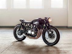 ϟ Hell Kustom ϟ: Honda CB550 By KickMoto