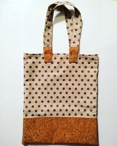Tote bag en liège :) mon petit sac à moi :)