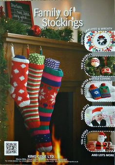 PATTERN BOOK Christmas Knits Book 1 DK Light by KnittingPatterns4U