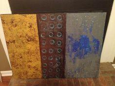 """For Luke"" Sarah Barbian. Abstract art"