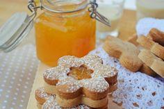 Troll a konyhámban: Gesztenyés linzer narancslekvárral töltve - paleo Krispie Treats, Rice Krispies, Gingerbread Cookies, Muffin, Biscuits, Bakery, Sweets, Breakfast, Food