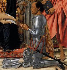 1472 Montefeltro Altarpiece by Piero della Francesca