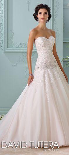 David Tutera for Mon Cheri Spring 2016 Wedding Dress