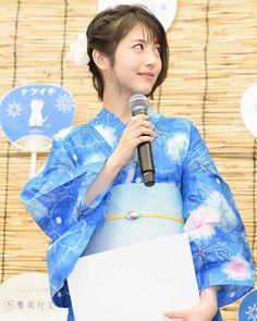 この浴衣姿😊 魅力がまさに世界一🥰 可愛すぎるでしょう😆 その猫になりたい🤣 #浜辺美波 #ナツイチ #べーやん #みーたん #浴衣 Japanese Beauty, My Beauty, Daniel Wellington, Pretty Girls, Actresses, Actors, Portrait, Cute, Yukata
