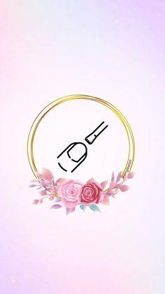 Nail Logo, Initial Art, Beauty Salon Decor, Instagram Logo, Wallpaper Backgrounds, Pedicure, Avon, Initials, Nails