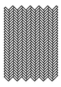 Creative Geometric, Suzanne, Cleo, Antonelli, and Pattern image ideas & inspiration on Designspiration Brick Patterns, Textile Patterns, Cool Patterns, Zentangle Patterns, Design Patterns, Embroidery Patterns, Graphic Design Pattern, Modern Graphic Design, Pattern Images