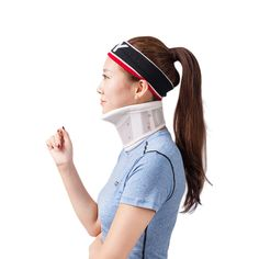Adjustable Rigid Plastic Cervical Collar With Chin Support For Neck Problems Neck Injuries, Pain & Stiffness HKJD