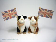 Keep Calm and Carry On Guinea Pig (£26)