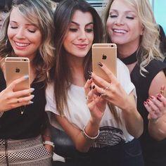 Taciele Alcolea , Nah Cardoso e Eliana