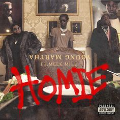 Young Thug and Carnage link up with Dreamchasers frontman, Meek Mill, for their new single titled 'Homie'. Thugger and Carnage … Hip Hop Albums, Meek Mill, Music Promotion, Young Thug, Original Song, News Songs, New Music, Edm, Album Covers
