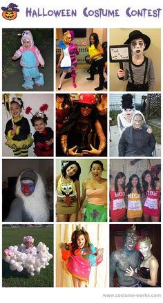 Homemade Halloween Costumes!