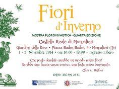 Fiori d'Inverno, Castello di Moncalieri (TO)