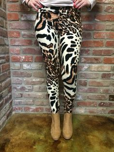 Leopard Legging from The Muddy Pearl