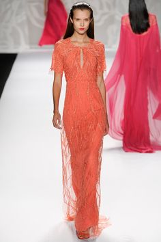 Monique Lhuillier Spring 2014 Ready-to-Wear Collection Slideshow on Style.com