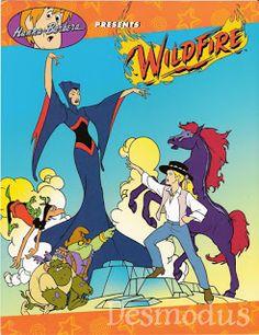 Hanna Barbera World: ENG - Wildfire - Cavalo de Fogo