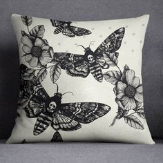"""Our Designs are Printed on """"Off White"""" Pillow Cover, which include the pillow inserts for you. The backing is made from Soft Cream Color Canvas Texture fabric. Pillow Covers are removable, and washabl"""