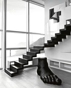 Walking On Air: An Apartment Overlooking the River by B