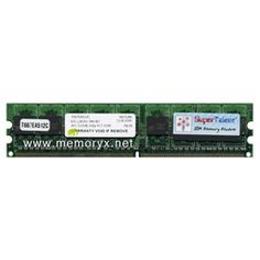 512MB Dell 240-pin PC2-5300 ECC DDR2-667 DIMM (p/n A0515207)
