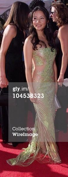 Lucy Liu during The 52nd Annual Emmy Awards at Shrine Auditorium in Los Angeles, California, 2000