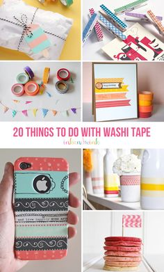 20 Things to Do with Washi Tape