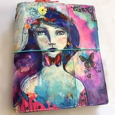 On my blog now - Gigi's journal -an altered version of my Butterfly Books! She created a video so you can see how and why. Thank you @gigis.colorful.world for sharing your creation and inspiring  others! xoxox Jane www.janedavenport.com/blog