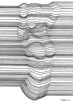 Optische Täuschung mit 3D-Effekt durch geschickte Linienführung  Der in Dublin lebende Künstler Nester Formentera fertigt erstaunliche Zeichnungen mit 3D-Effekt an. Nachdem Nester Formentera in der Vergangenheit ...