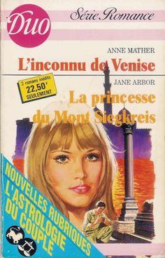 Livre Ed. Harlequin - duo série romance 389 390 - 2 romans - anne Mather - jane Arbor