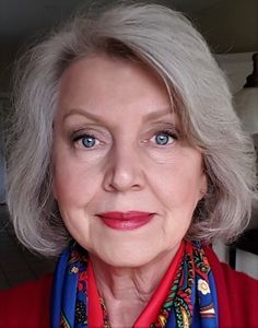 Foundation makeup and contouring applied in an attempt to achieve a perfect finish no longer serves my sixty-one-year-old face well. The smokey eye with liner and dark lashes works well for evening an