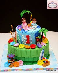 luau 1st birthday cakes - Google Search