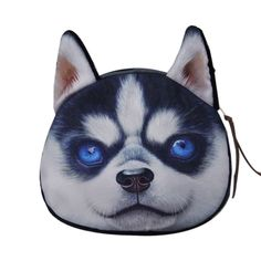 Cat Dog Pet Face Women Coin Wallet Purse Mini Bag Kids Coin Purse Pouch Women Wallets Coins Bags High Quality