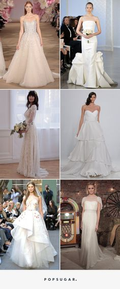 Pin for Later: 100 Stunning Wedding Dresses For Spring 2017 Brides