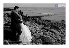 Dorset beach wedding photography with a difference - adventurous and informal
