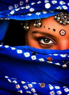 """Magical Eyes"" ~ ( by James Giovanni Pan), India"