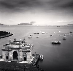 Gateway of India, Mumbai, India. 2006, Michael Kenna