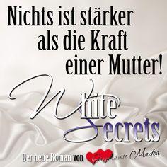 """⭐ heiß & atemraubend ⭐  Mein neuer Roman """"White Secrets"""" geht am 27.7.18 an den Start - jetzt schon vorbestellbar.  --> https://amzn.to/2LwyPd4  Ca. 300 Seiten Hingabe pur! <3  #stephaniemadea #thrill #romance #roman #whitesecrets"""