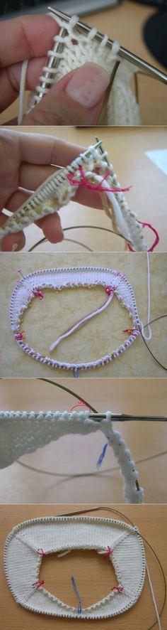 "Вяжем реглан спицами - пошаговый мастер класс с фото [ ""Raglan Knitting needles - step by step wizard class photo"" ] # # #Knitting #Needles, # #Knitting #Stitches, # #Wizards, # #Step #By #Step, # #Knitting"