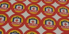"""Mail4Rosey: One Step Ahead has Allergy Lables (perfect for school)! with #Giveaway: @MailforRosey  https://shar.es/1sOcqt  """"One Step Ahead has devised an easy system to let others know your child(ren) has an allergy with these bright red stickers that are so easy to apply and yet so effective in getting the message across. Highly visible but unobtrusive, these stickers are a great way to send out the reminder..."""""""