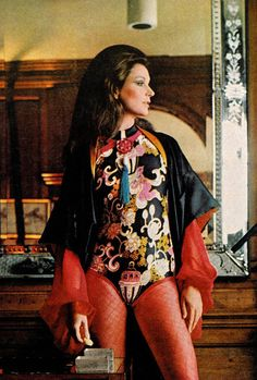 Super Seventies - Betsy Pickering photographed by Bert Stern for Vogue 1971