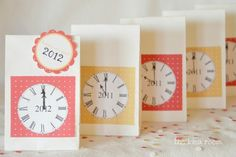 Make New Year's Eve Countdown Bags (via dollarstorecrafts.com)