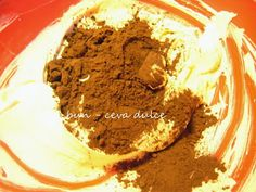 Adela Zilahi: Prajitura cu migdale, crema de vanilie si cacao Ice Cream, Desserts, No Churn Ice Cream, Tailgate Desserts, Deserts, Icecream Craft, Postres, Dessert, Ice