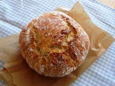 Szenzációs házi kenyér – dagasztás nélkül – A napfény illata Ciabatta, Naan, Baked Potato, Potatoes, Baking, Ethnic Recipes, Food, Breads, Pizza