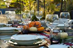 Sharing a Friendsgiving Dinner Party Menu - a fall dinner party potluck to share with friends. Lots of party tips and photographs included.