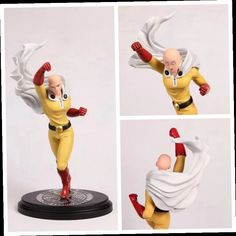 42.13$  Buy now - http://alim0h.worldwells.pw/go.php?t=32703051139 - 1pcs One Punch-Man One Punch Man Saitama Nendoroid Manga Anime PVC Figure collection kids toys gifts model 23cm change face gsc 42.13$