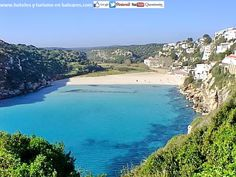 Hoy nos asentamos en Cala en Porter. (MENORCA) Enlaza información en: http://www.hoteles-y-turismo-en-baleares.com/