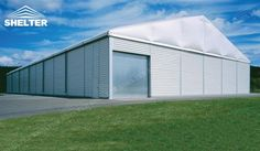 The thermo-insulated Temporary Warehouse Buildings from Shelter are the ideal choice for sensitive storage, portable warehouse requirements or workshop.